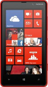 Repair of a broken Nokia Lumia 820 Smartphone