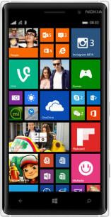 Repair of a broken Nokia Lumia 830 Smartphone