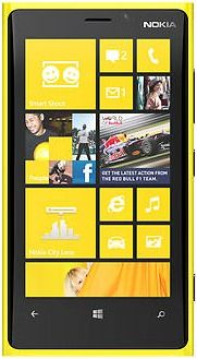 Repair of a broken Nokia Lumia 920 Smartphone